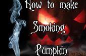 Cómo hacer calabaza fumar