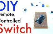 DIY receptor controlado interruptor (barato y fácil)