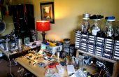 Udon de cafetería y reciclaje-centro/taller/espacio de trabajo