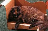 Simple, barato, Comfy casera para gatos