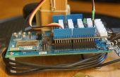 Edison de Intel como servidor de I/O de alta velocidad: entrada-salida análoga y Digital transmisión a través de conexión WiFi al PC cliente
