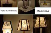 Cómo hacer lámparas de noche hecho a mano.