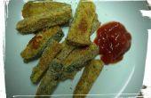 Papas fritas de calabacín al horno