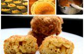 Deep Fried Mac y queso