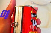 Cómo abrir una lata de carne.