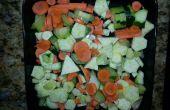 Sopa simple de la Variable - sopa de verduras