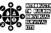 Introducción a la construcción de kits de supervivencia individuales