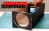 Construir un proyector de Smartphone con una caja de zapatos