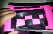 Cómo hacer un cambio bolsillo justo en su cartera de cinta de conducto