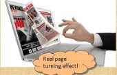 ¿Cómo convertir PDF para voltear libro libremente? ¿