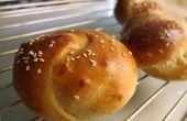 Super suave y húmedo bollos de panadería China
