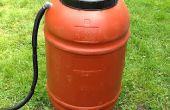 Agua de lluvia: lluvia barril DIY