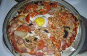 Completo desayuno inglés Pizza