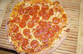 Pizza rápida y sucia - pero aún sabroso -
