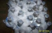 Aislamiento de plástico de la botella