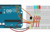 Indicador de temperatura LED Arduino