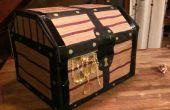 Simple Pirate Treasure pecho regalo caja de cartón
