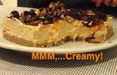 Cheesecake de Clementina sin hornear vegano