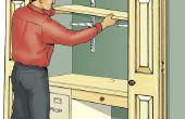 Construir una oficina armario