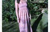 Fruncido Vestido de verano