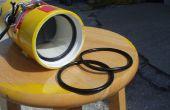 Silicona casera O-rings y tubo