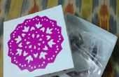 Caja de regalo y decoración de papel