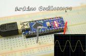 Osciloscopio de Arduino bajo 5 $ - 3 canales