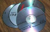 Muy buena Postal escala de viejos CDs