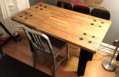 Ridículamente pesado mesa