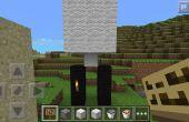 Trampa de grava de Pe de Minecraft fácil