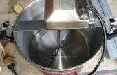 Auto Pot agitador de barbacoa escupir para mezclar puré de maíz