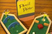 El Putter de lápiz: Mochila de golf llavero