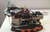 Johnny5 Arduino Robot DfRobotshop rover con interfaz de control remoto html