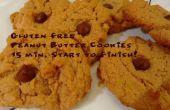 Gluten Free Peanut Butter Cookies: 15 minutos empieza a terminar!
