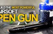 Pistola Airsoft extremo de la pluma