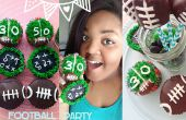 Cupcakes fiesta fútbol y Marshmallow Pops