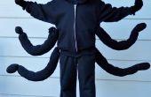 LilyPad Arduino araña traje
