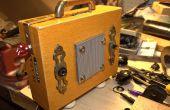 Hacer su propio cigarro caja guitarra / Mp3 Reproductor Amplificador