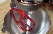 Cómo restaurar y personalizar su paleta de KitchenAid y el gancho para masa