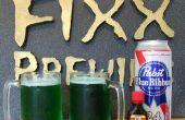 Hacer la cerveza de verde en casa para el día de San Patricio