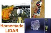 Simple LiDAR con el telémetro láser Uni-T UT390b, Arduino y Turbo Pascal