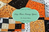 Lacy flor Granny Square – patrón de ganchillo gratis