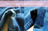 Cómo parchear elásticos jeans