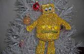 Ornamento de la Navidad robot