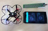 Quadcopter de control del teléfono en 30 minutos! [ESP8266 + A7105 + Blynk App para iOS/Android]