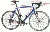 Bicicleta Top tubo Protector