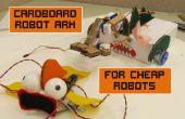 Brazo de Robot de cartón para Robots baratos