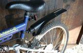 DIY guardabarros de bicicleta $ 0