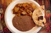 Mexicana Hash o Chorizo Con Papas (w mexicana chorizo patatas)