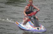 Como conseguir un Jet Ski o un remolque y en el agua